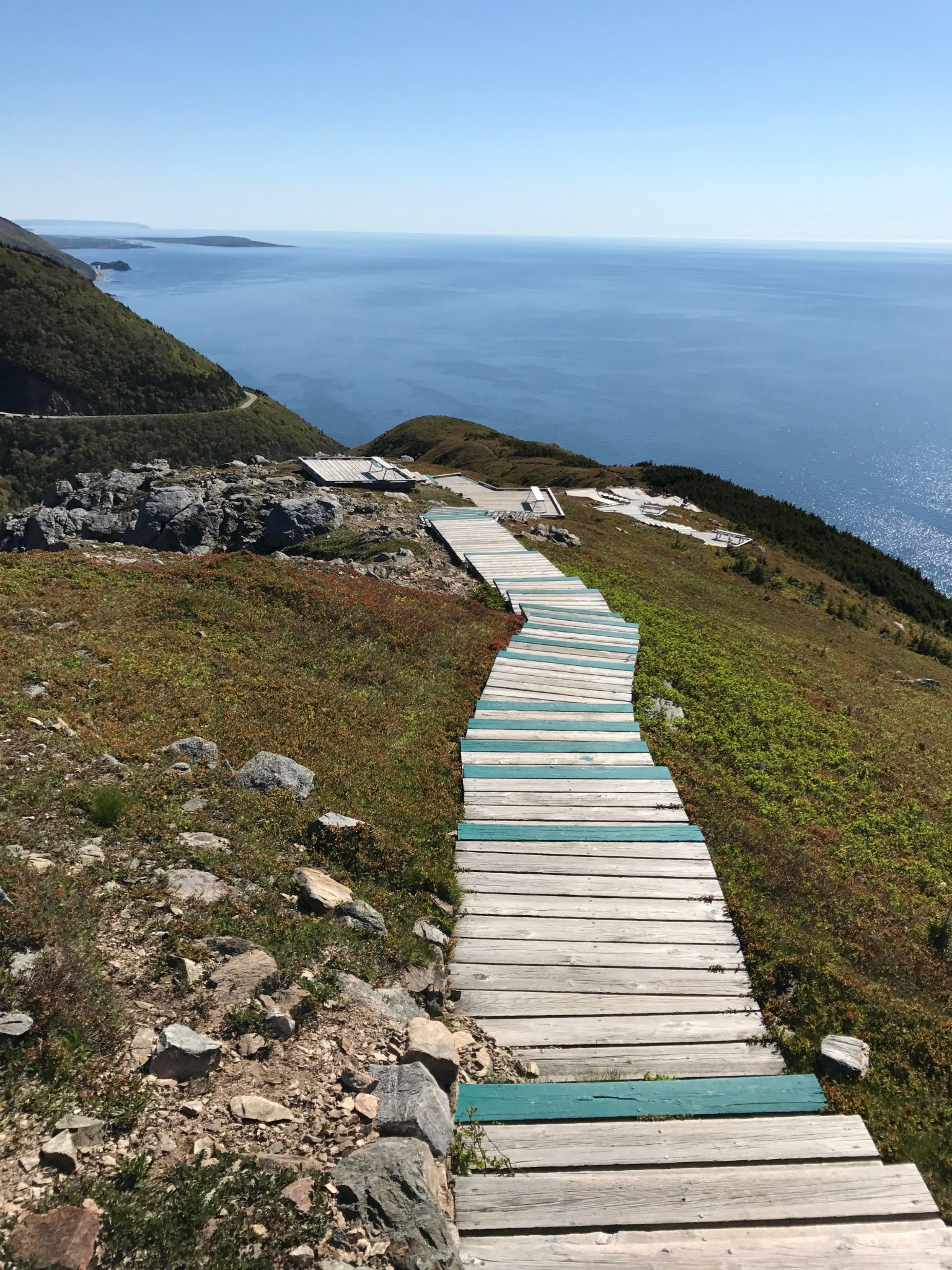 Skyline Trail i Cape Breton National Park, Nova Scotia