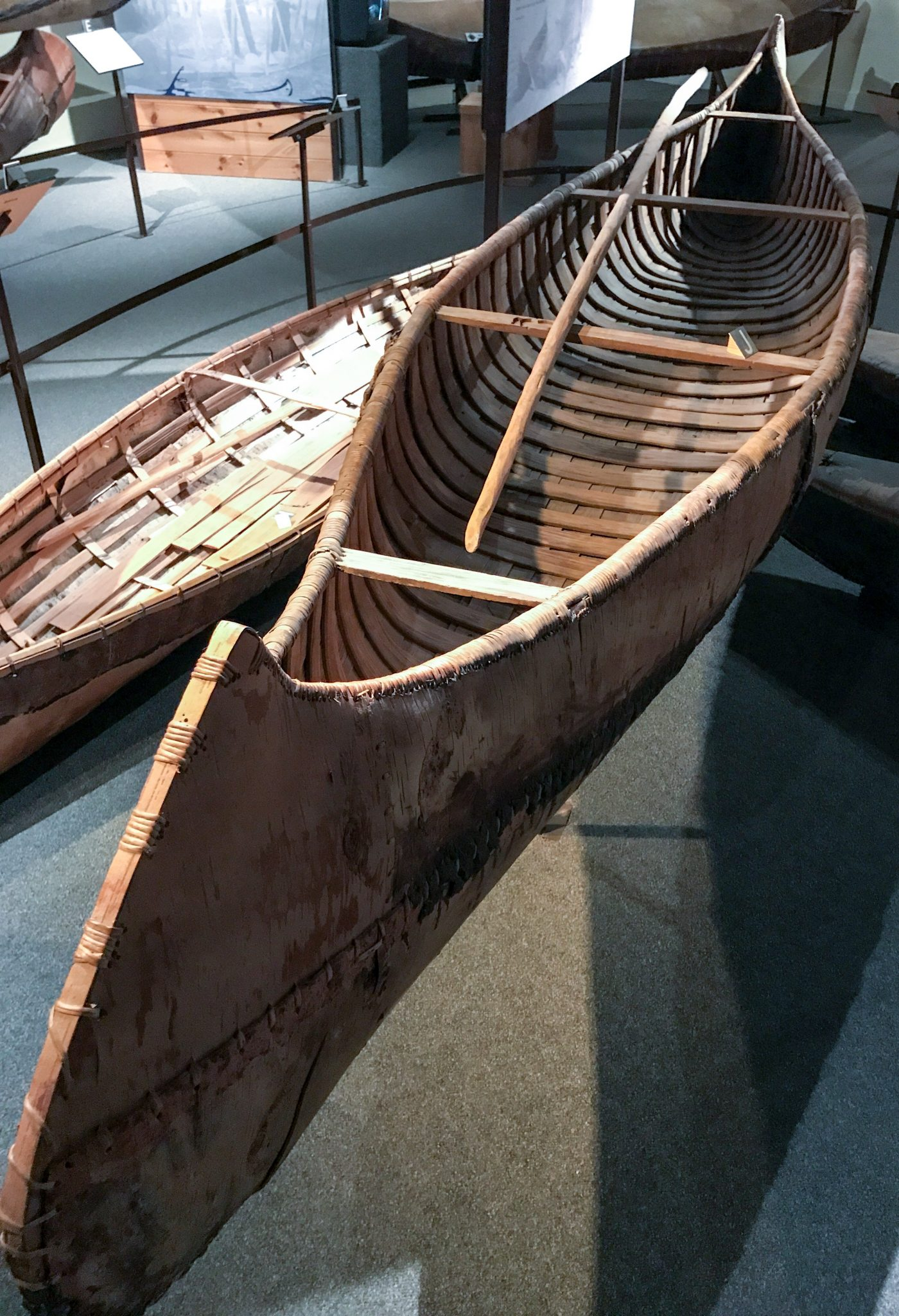 The Canadian Canoe Museum i Peterborough, Ontario