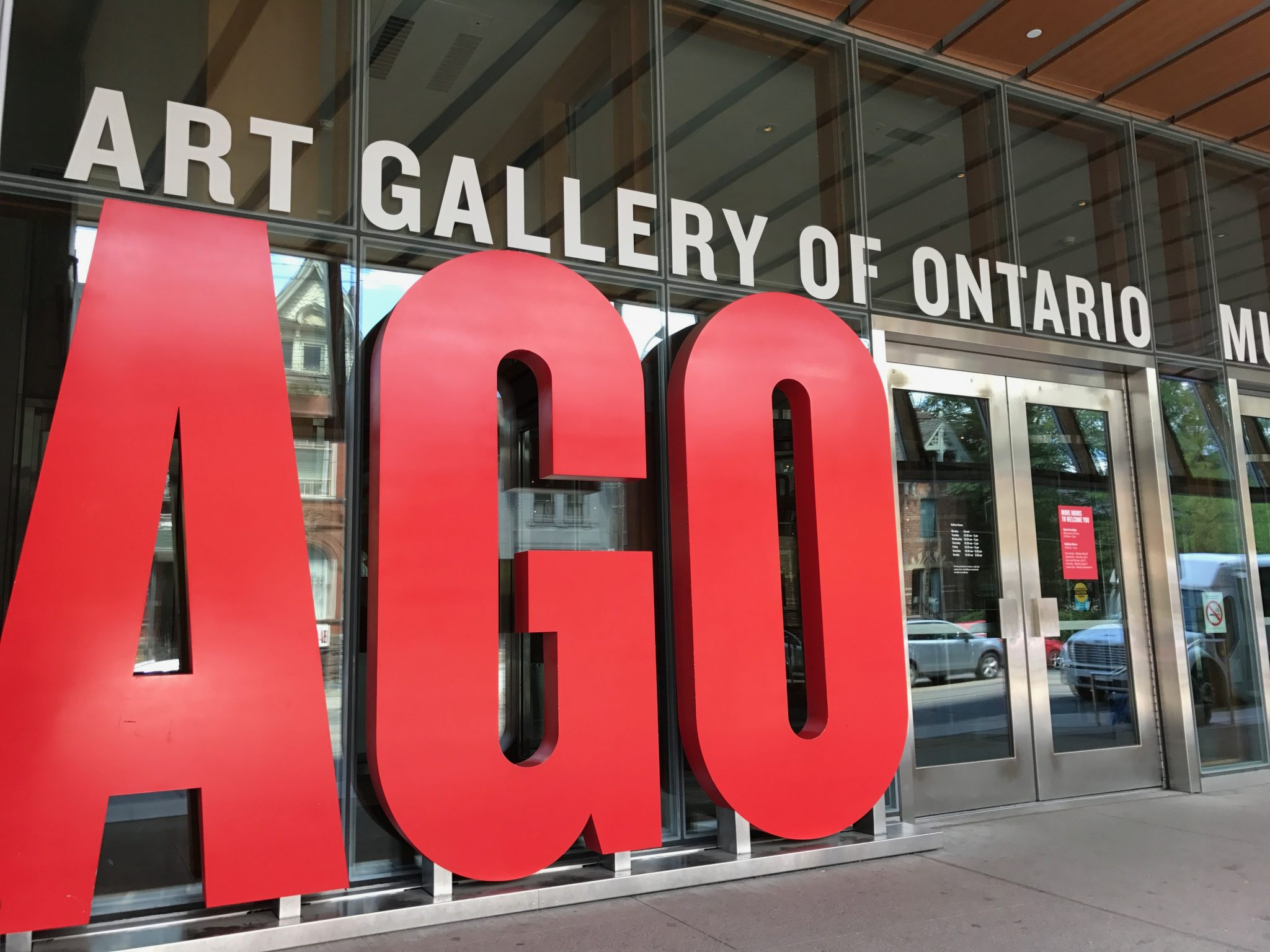 AGO - Art Gallery of Ontario i Toronto