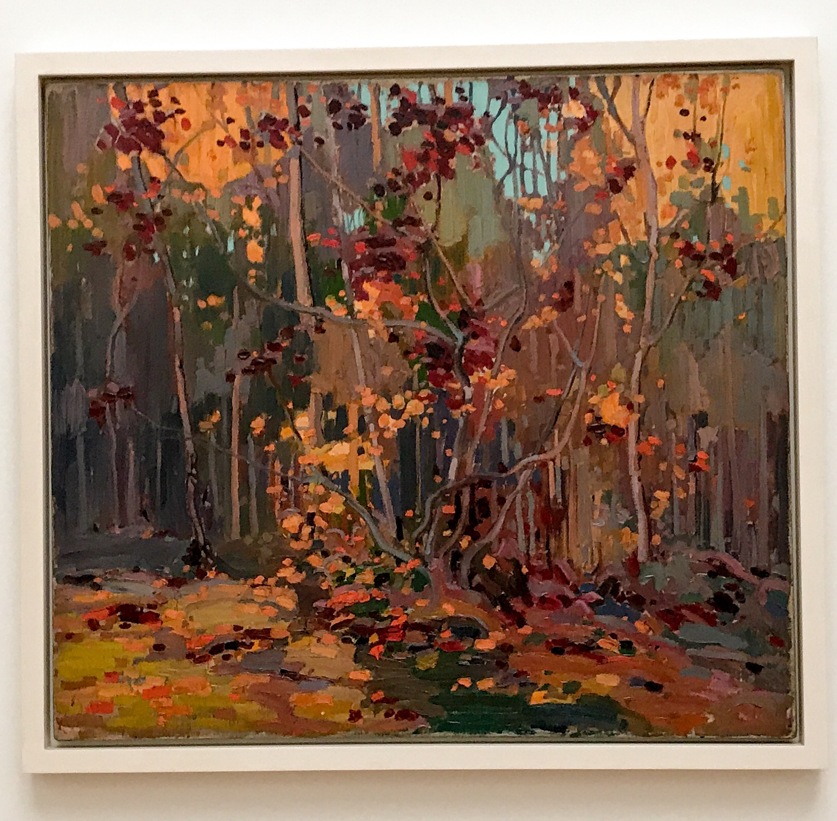 Tom Thomson maleri på AGO - Art Gallery of Ontario i Toronto