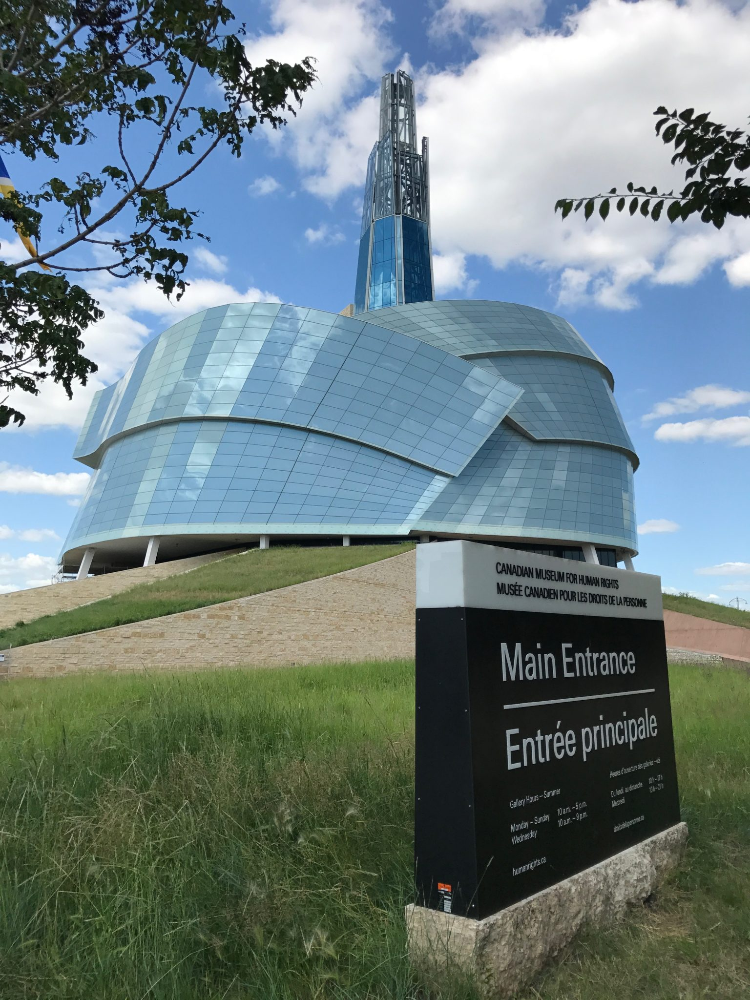 Canadian Museum for Human Rights i Winnipeg, Manitoba