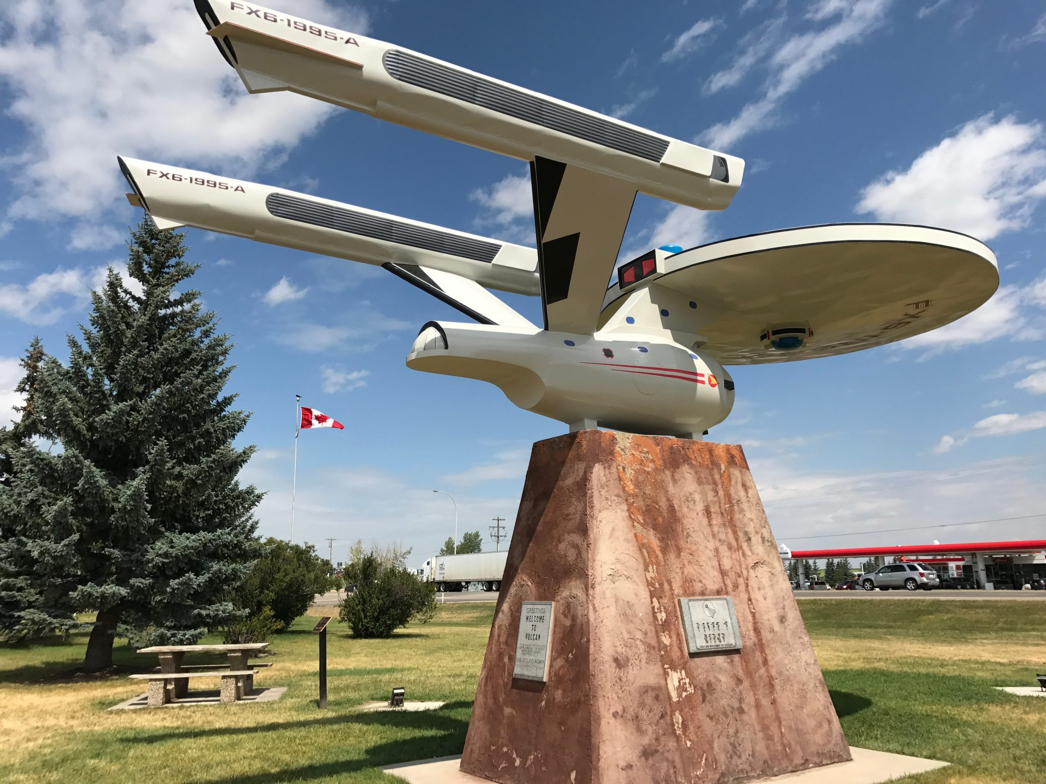 Vulcan i Alberta. Byen for alle Star Trek fans