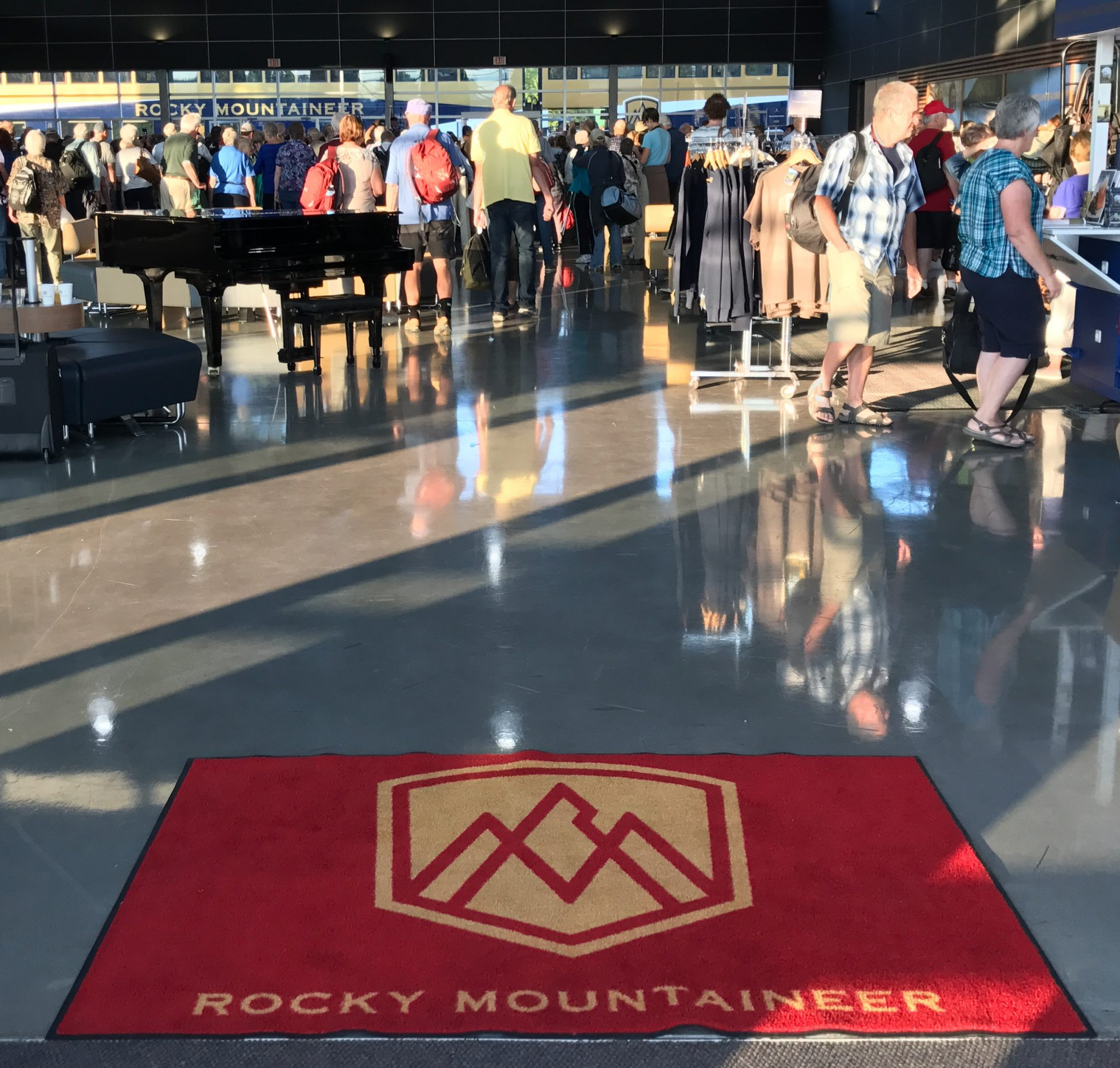 Velkommen til Rocky Mountaineer Train Station i Vancouver