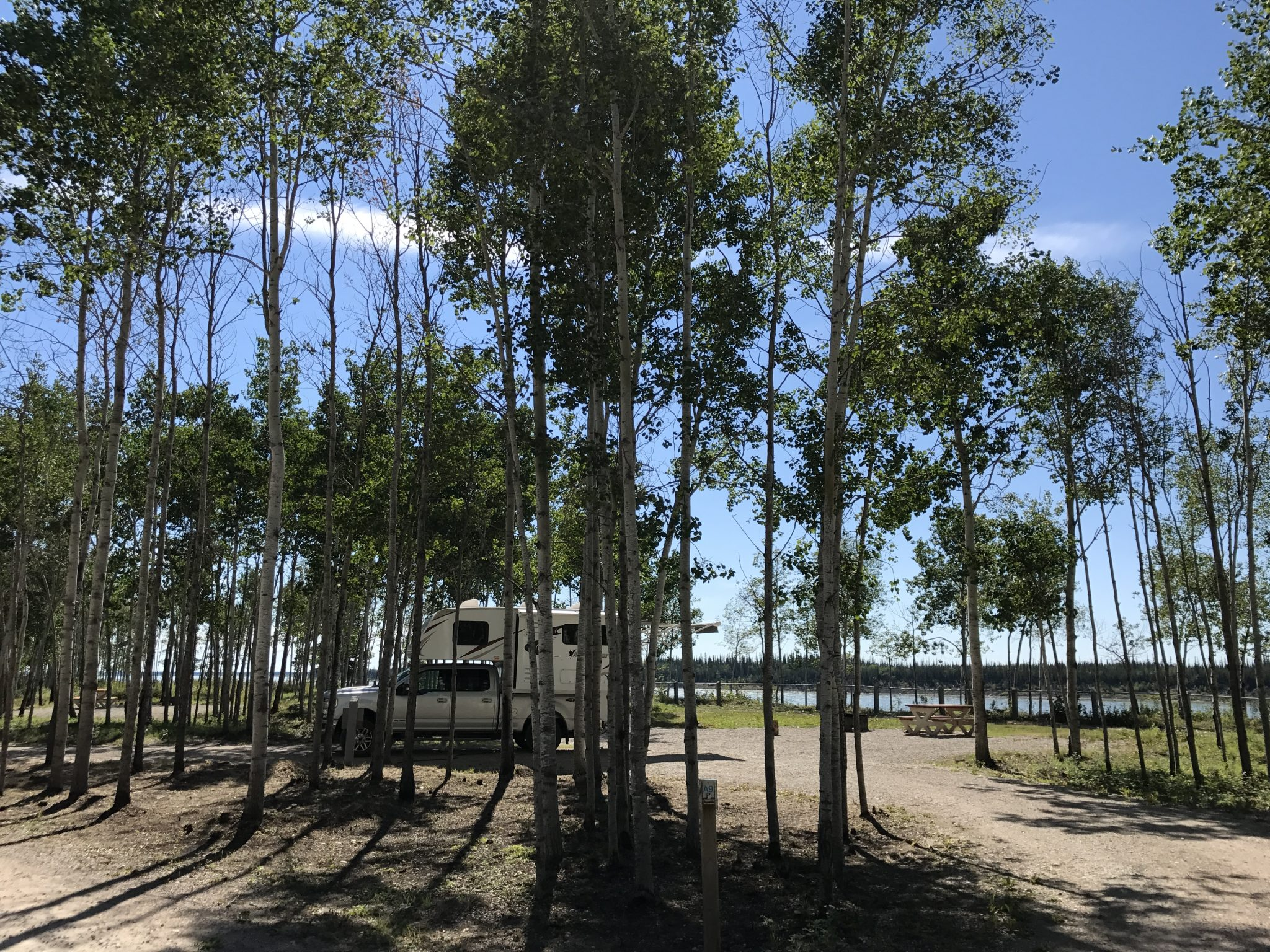 Fort Providence Territorial Park Campground i Northwest Territories